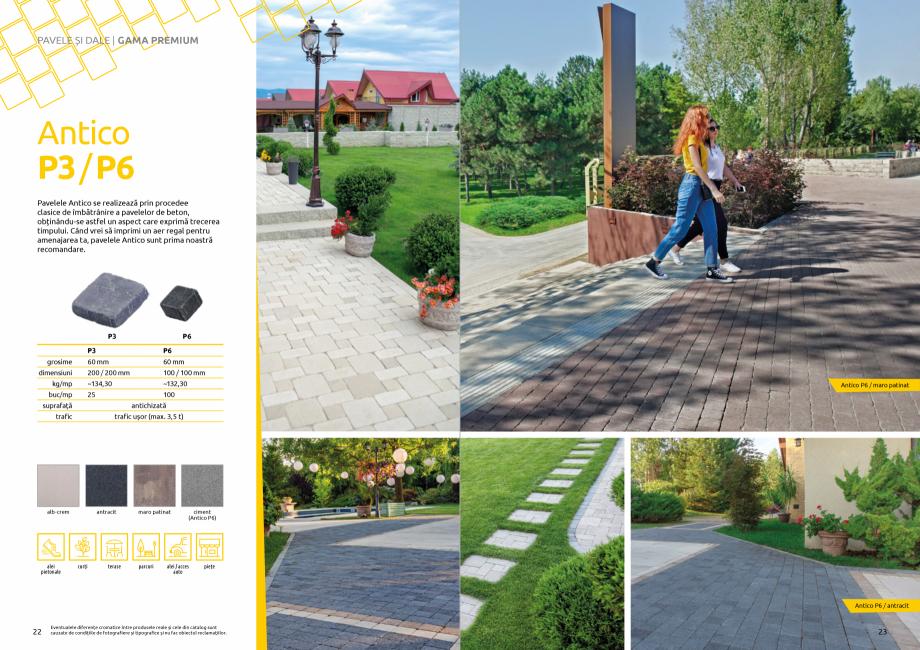 Pagina 13 - Catalog de produse si idei de amenajare 2020-2021 - Blocheti si boltari din beton pentru...