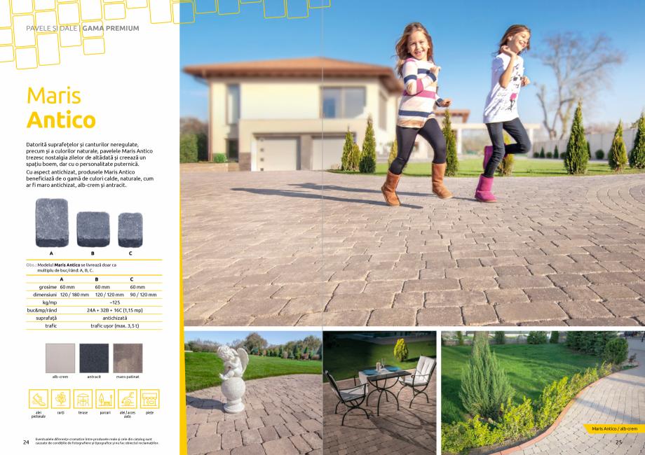 Pagina 14 - Catalog de produse si idei de amenajare 2020-2021 - Blocheti si boltari din beton pentru...
