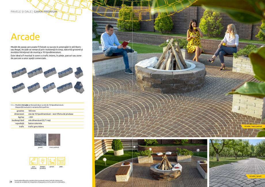 Pagina 16 - Catalog de produse si idei de amenajare 2020-2021 - Blocheti si boltari din beton pentru...