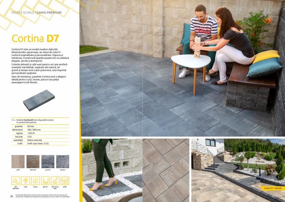 Pagina 17 - Catalog de produse si idei de amenajare 2020-2021 - Blocheti si boltari din beton pentru...