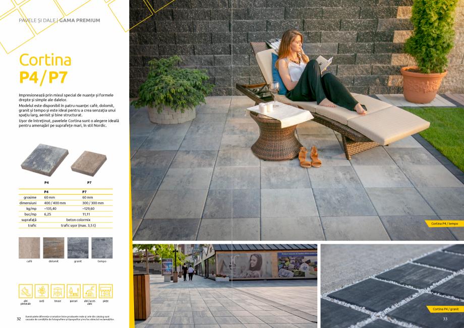 Pagina 18 - Catalog de produse si idei de amenajare 2020-2021 - Blocheti si boltari din beton pentru...