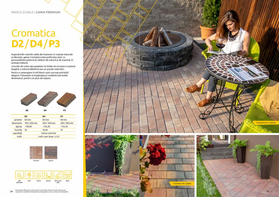 Pagina 19 - Catalog de produse si idei de amenajare 2020-2021 - Blocheti si boltari din beton pentru...