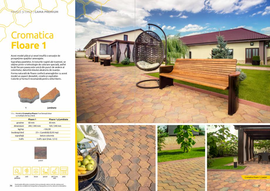 Pagina 20 - Catalog de produse si idei de amenajare 2020-2021 - Blocheti si boltari din beton pentru...