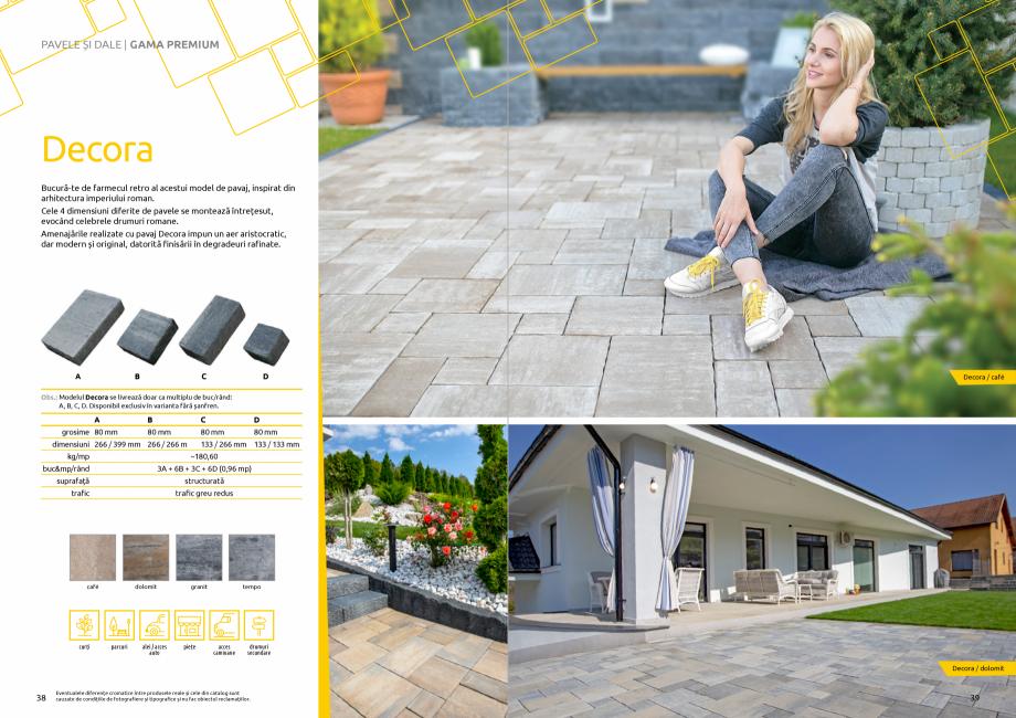 Pagina 21 - Catalog de produse si idei de amenajare 2020-2021 - Blocheti si boltari din beton pentru...