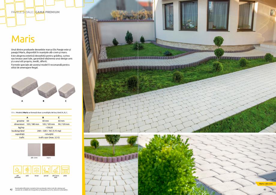 Pagina 23 - Catalog de produse si idei de amenajare 2020-2021 - Blocheti si boltari din beton pentru...