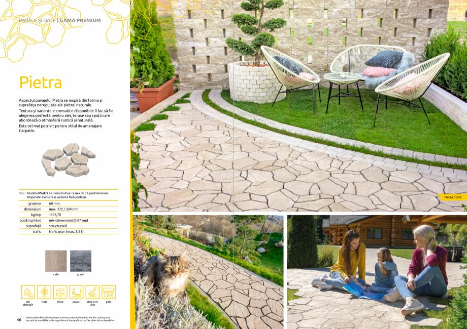 Pagina 25 - Catalog de produse si idei de amenajare 2020-2021 - Blocheti si boltari din beton pentru...