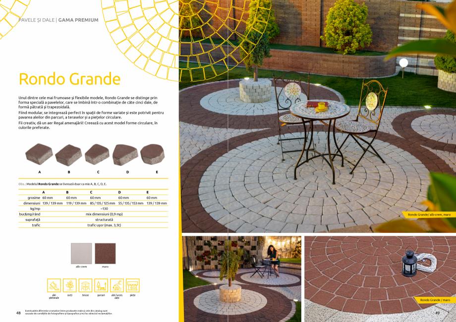 Pagina 26 - Catalog de produse si idei de amenajare 2020-2021 - Blocheti si boltari din beton pentru...