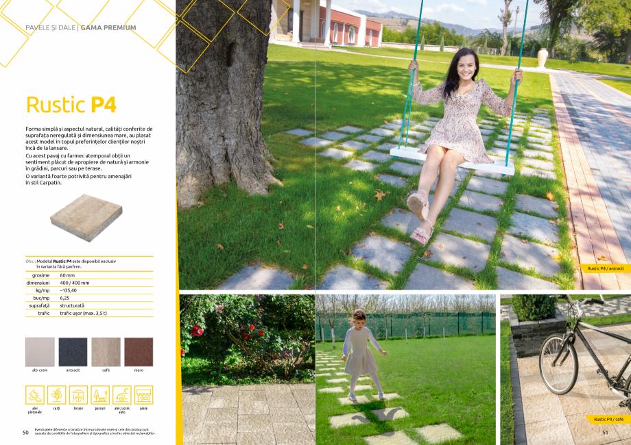 Pagina 27 - Catalog de produse si idei de amenajare 2020-2021 - Blocheti si boltari din beton pentru...