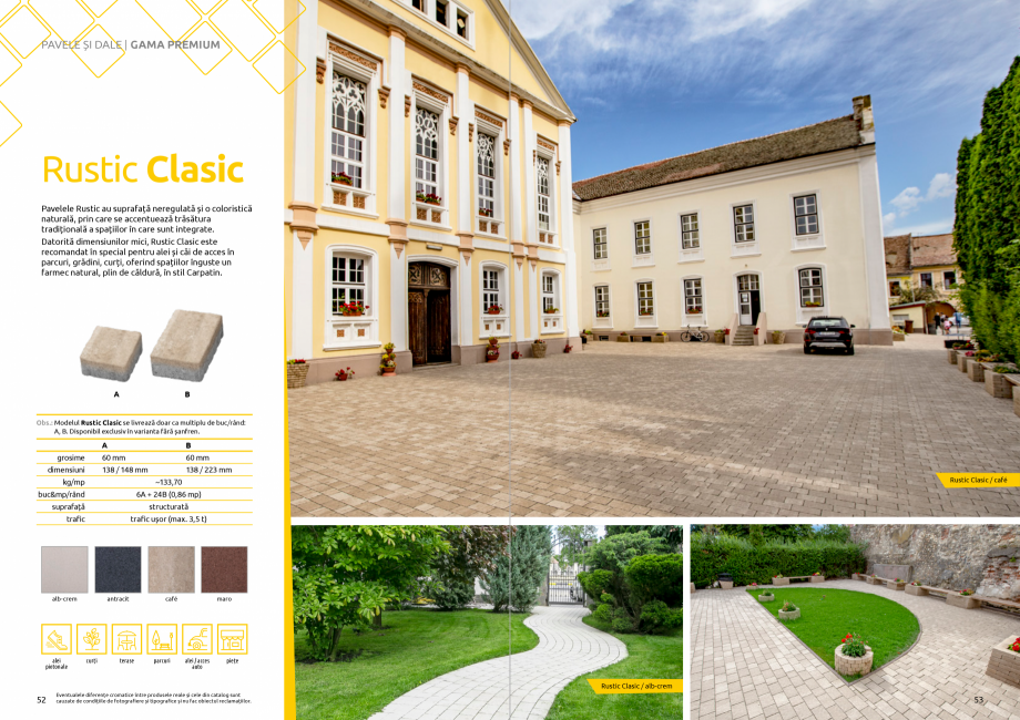 Pagina 28 - Catalog de produse si idei de amenajare 2020-2021 - Blocheti si boltari din beton pentru...