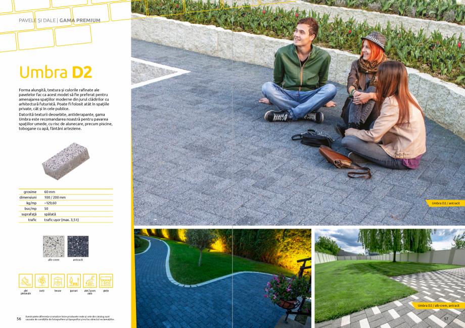 Pagina 30 - Catalog de produse si idei de amenajare 2020-2021 - Blocheti si boltari din beton pentru...