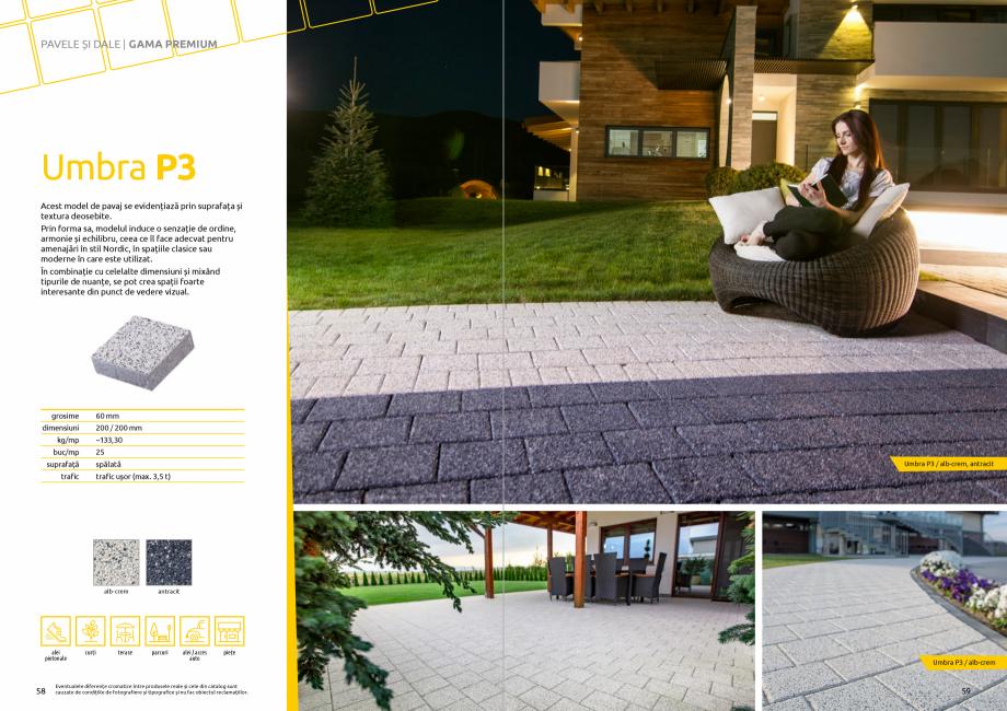 Pagina 31 - Catalog de produse si idei de amenajare 2020-2021 - Blocheti si boltari din beton pentru...