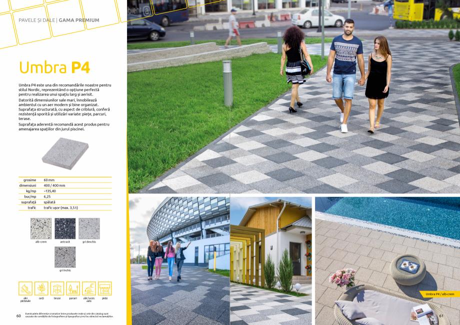 Pagina 32 - Catalog de produse si idei de amenajare 2020-2021 - Blocheti si boltari din beton pentru...