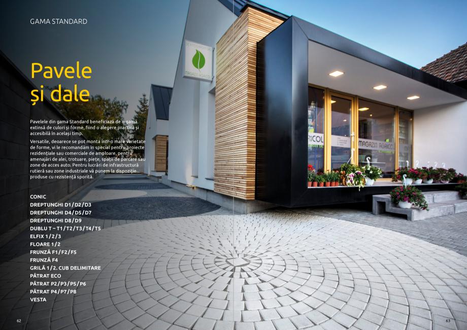 Pagina 33 - Catalog de produse si idei de amenajare 2020-2021 - Blocheti si boltari din beton pentru...