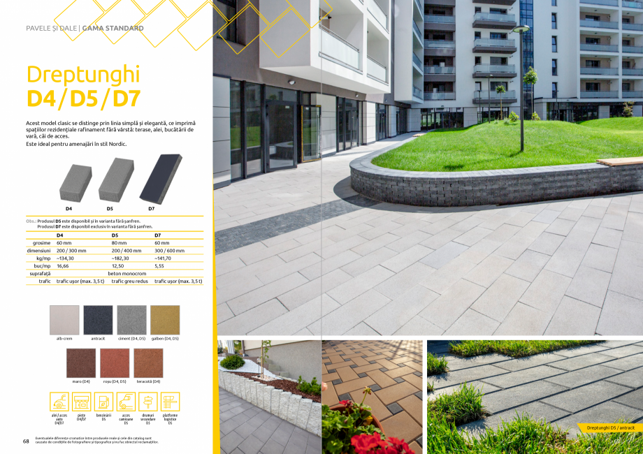 Pagina 36 - Catalog de produse si idei de amenajare 2020-2021 - Blocheti si boltari din beton pentru...