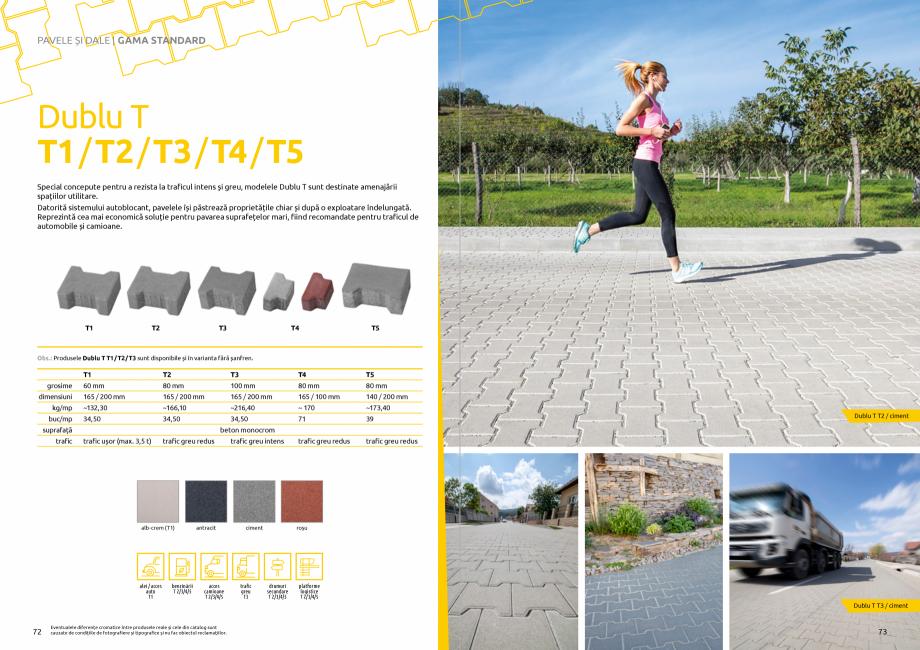 Pagina 38 - Catalog de produse si idei de amenajare 2020-2021 - Blocheti si boltari din beton pentru...