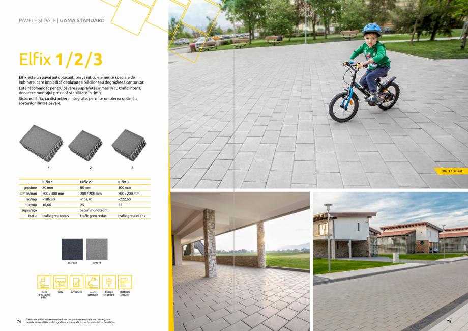 Pagina 39 - Catalog de produse si idei de amenajare 2020-2021 - Blocheti si boltari din beton pentru...