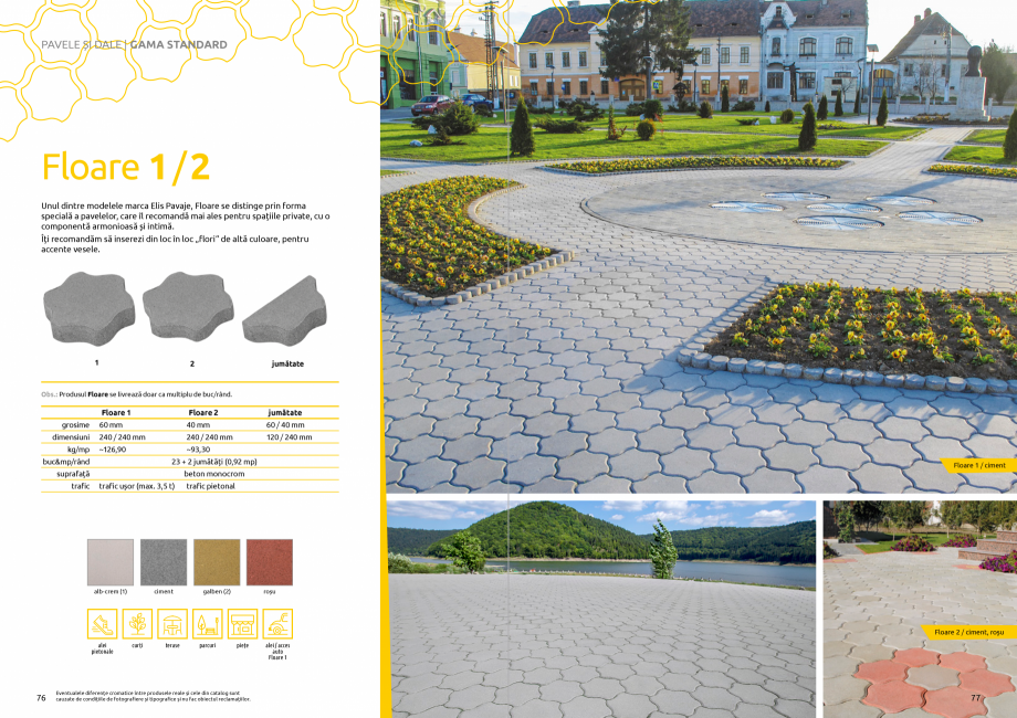 Pagina 40 - Catalog de produse si idei de amenajare 2020-2021 - Blocheti si boltari din beton pentru...