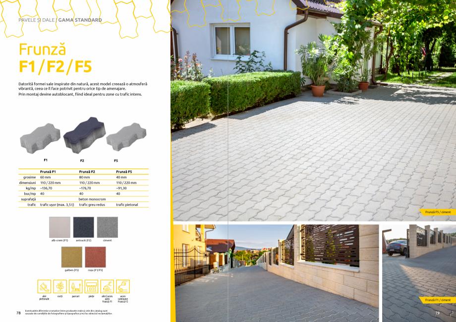 Pagina 41 - Catalog de produse si idei de amenajare 2020-2021 - Blocheti si boltari din beton pentru...