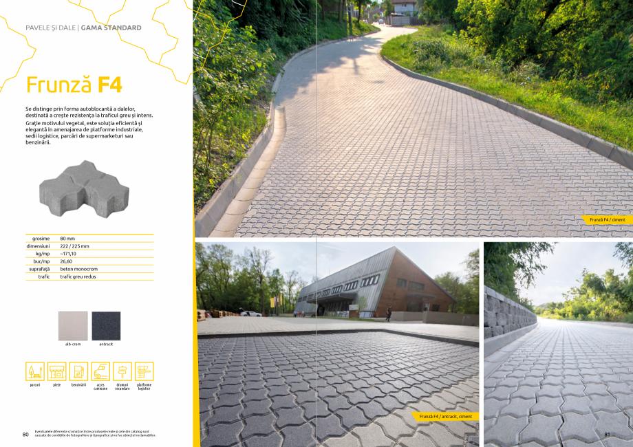 Pagina 42 - Catalog de produse si idei de amenajare 2020-2021 - Blocheti si boltari din beton pentru...