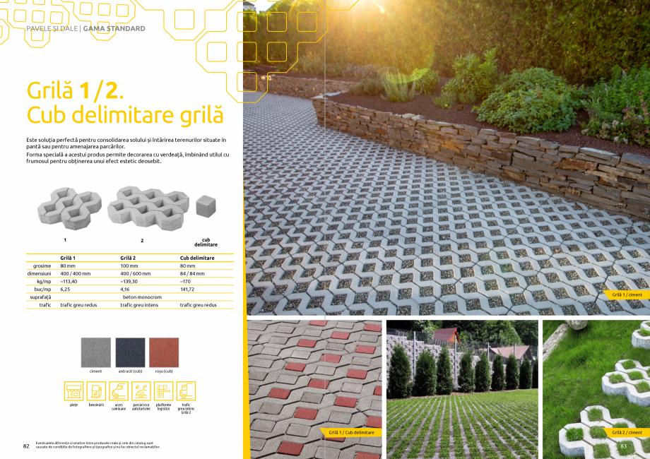 Pagina 43 - Catalog de produse si idei de amenajare 2020-2021 - Blocheti si boltari din beton pentru...