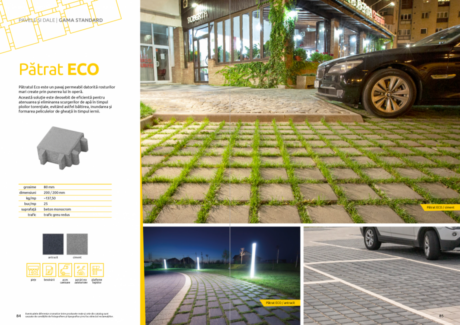 Pagina 44 - Catalog de produse si idei de amenajare 2020-2021 - Blocheti si boltari din beton pentru...