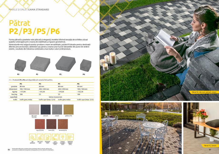 Pagina 45 - Catalog de produse si idei de amenajare 2020-2021 - Blocheti si boltari din beton pentru...