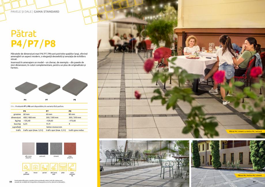 Pagina 46 - Catalog de produse si idei de amenajare 2020-2021 - Blocheti si boltari din beton pentru...