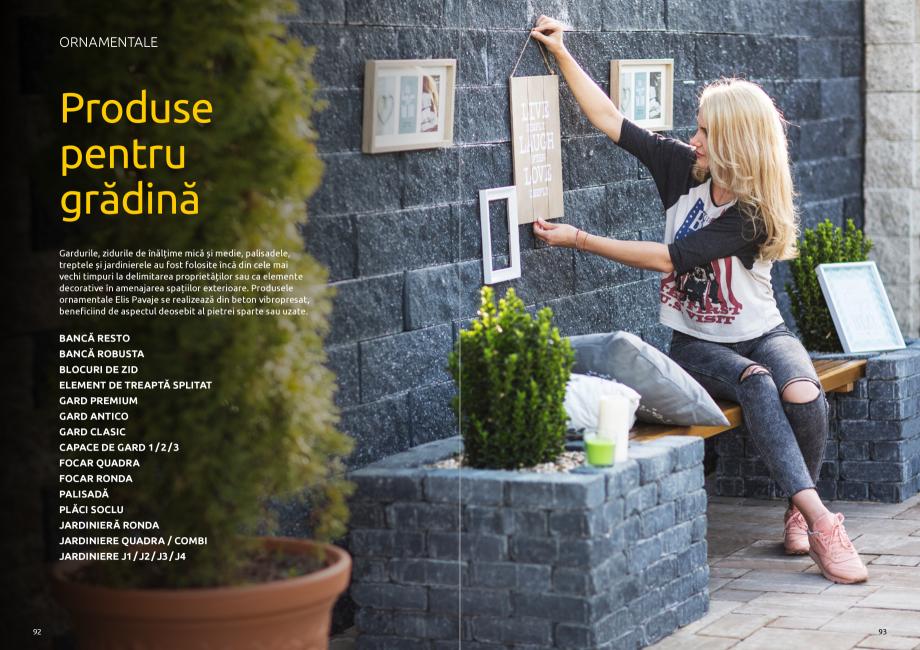 Pagina 48 - Catalog de produse si idei de amenajare 2020-2021 - Blocheti si boltari din beton pentru...