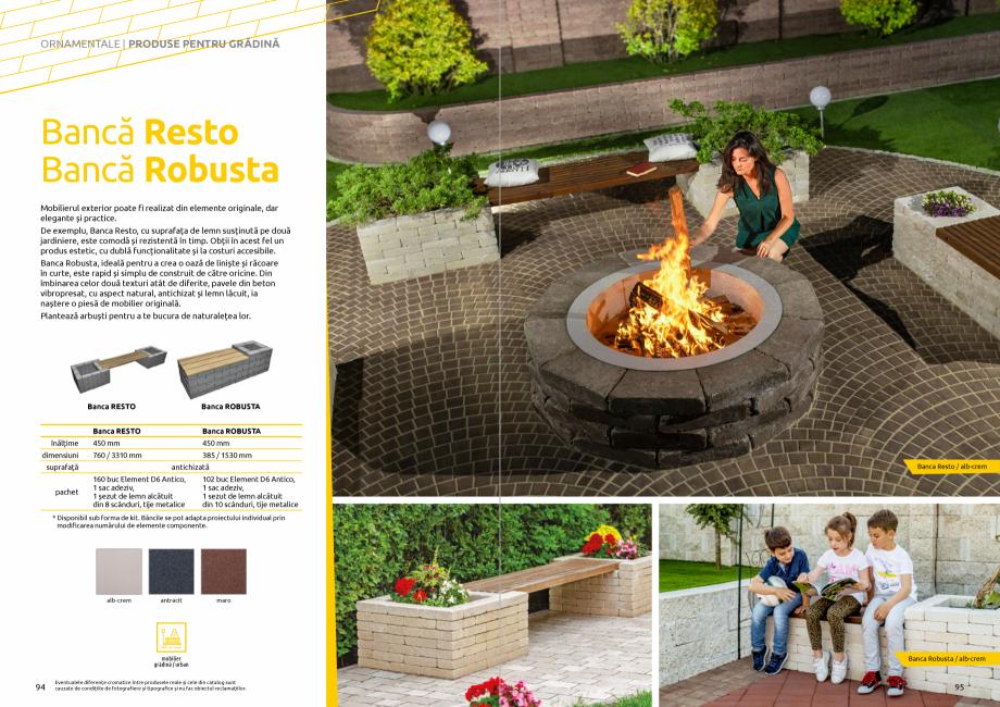 Pagina 49 - Catalog de produse si idei de amenajare 2020-2021 - Blocheti si boltari din beton pentru...