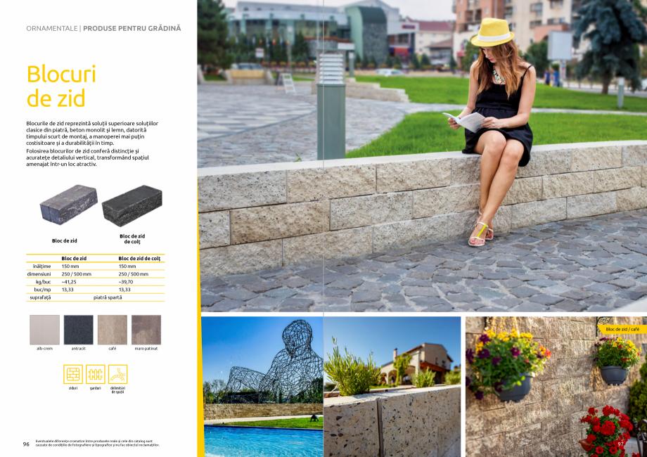 Pagina 50 - Catalog de produse si idei de amenajare 2020-2021 - Blocheti si boltari din beton pentru...