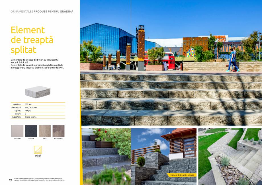 Pagina 51 - Catalog de produse si idei de amenajare 2020-2021 - Blocheti si boltari din beton pentru...