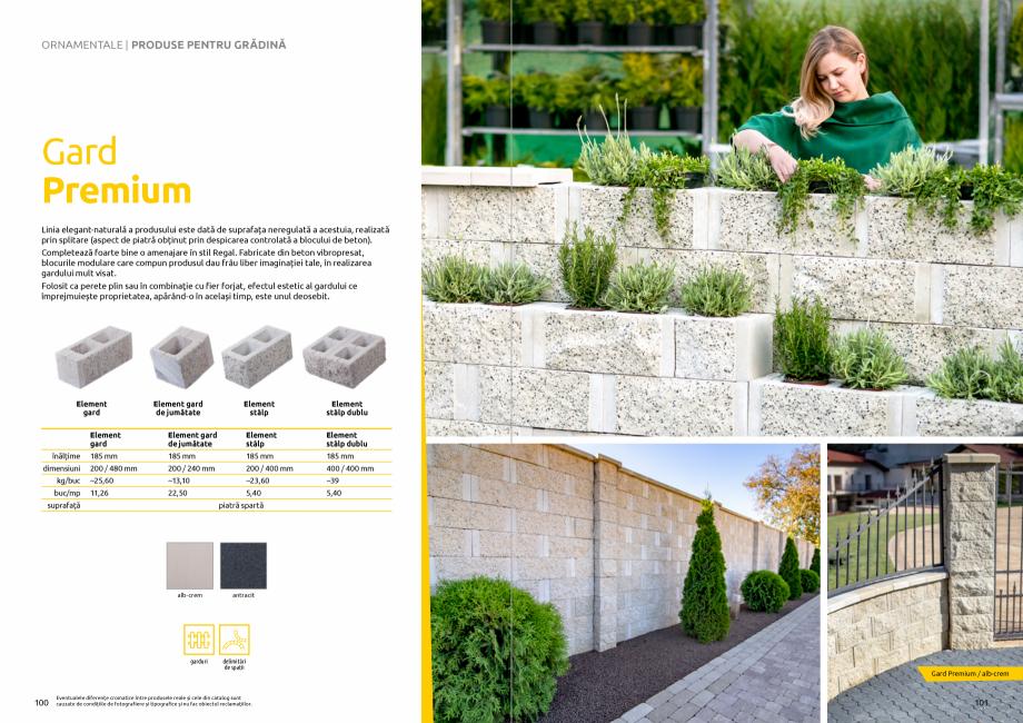 Pagina 52 - Catalog de produse si idei de amenajare 2020-2021 - Blocheti si boltari din beton pentru...