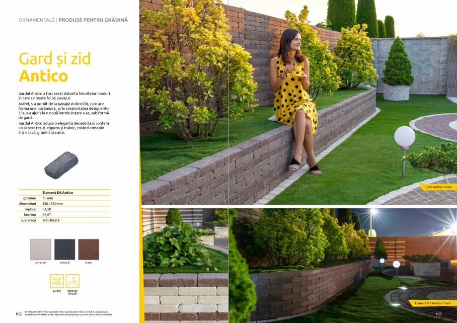 Pagina 53 - Catalog de produse si idei de amenajare 2020-2021 - Blocheti si boltari din beton pentru...
