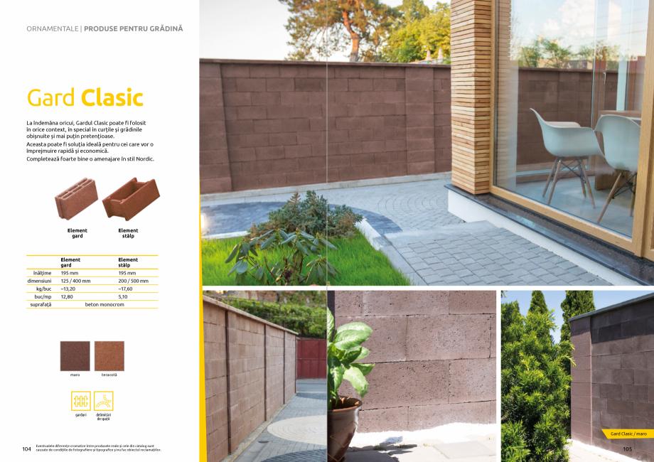 Pagina 54 - Catalog de produse si idei de amenajare 2020-2021 - Blocheti si boltari din beton pentru...