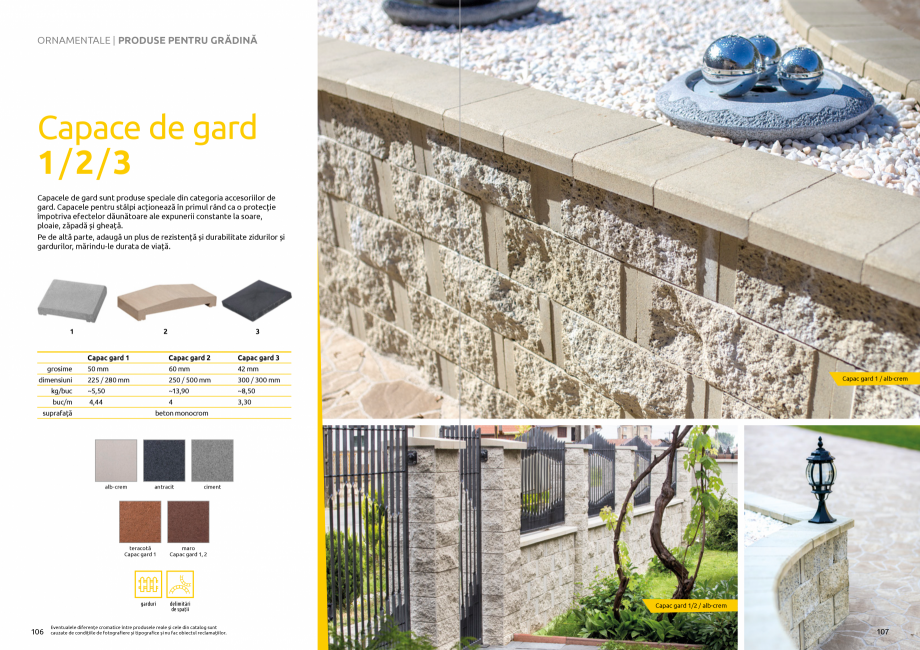 Pagina 55 - Catalog de produse si idei de amenajare 2020-2021 - Blocheti si boltari din beton pentru...