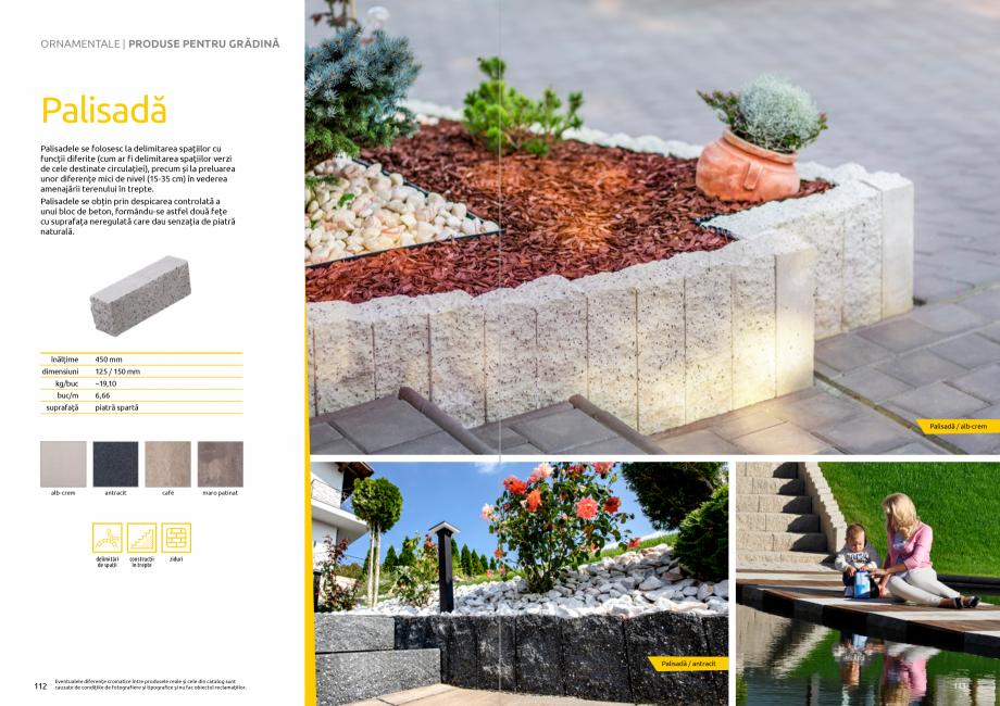 Pagina 58 - Catalog de produse si idei de amenajare 2020-2021 - Blocheti si boltari din beton pentru...