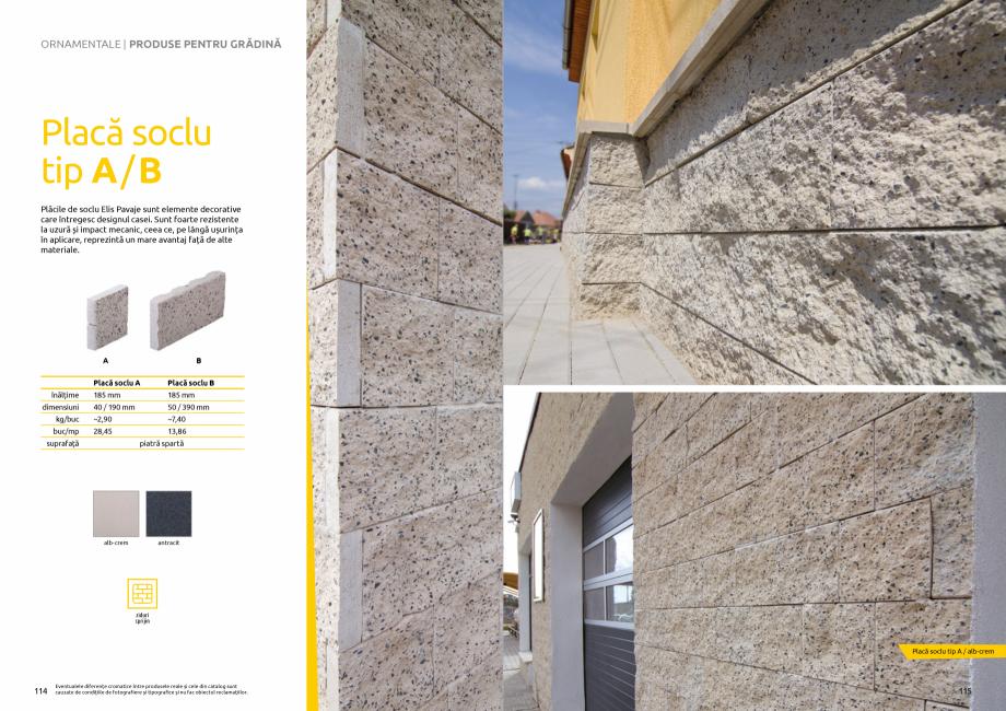Pagina 59 - Catalog de produse si idei de amenajare 2020-2021 - Blocheti si boltari din beton pentru...