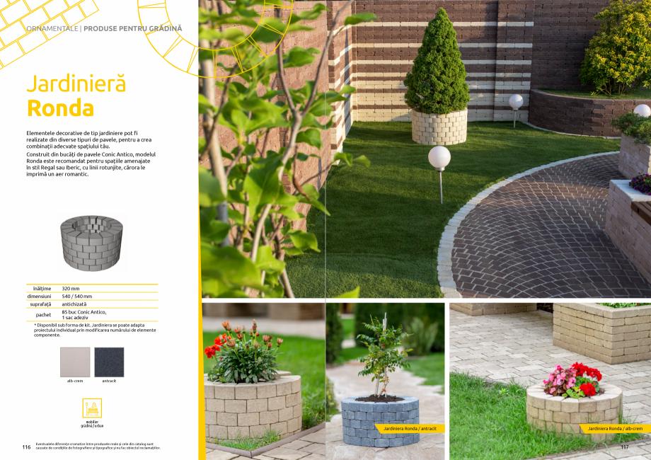 Pagina 60 - Catalog de produse si idei de amenajare 2020-2021 - Blocheti si boltari din beton pentru...