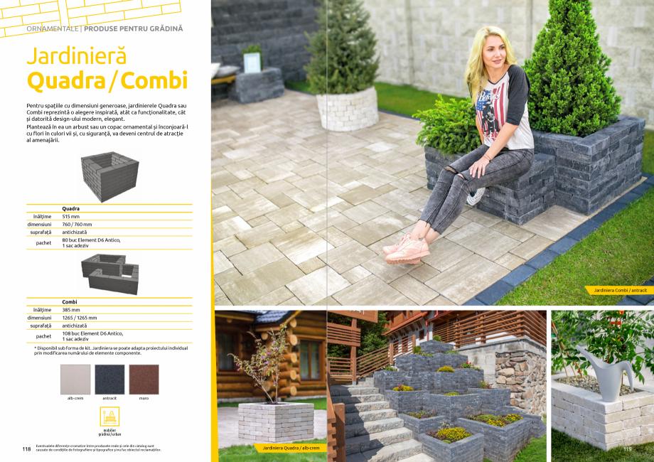Pagina 61 - Catalog de produse si idei de amenajare 2020-2021 - Blocheti si boltari din beton pentru...