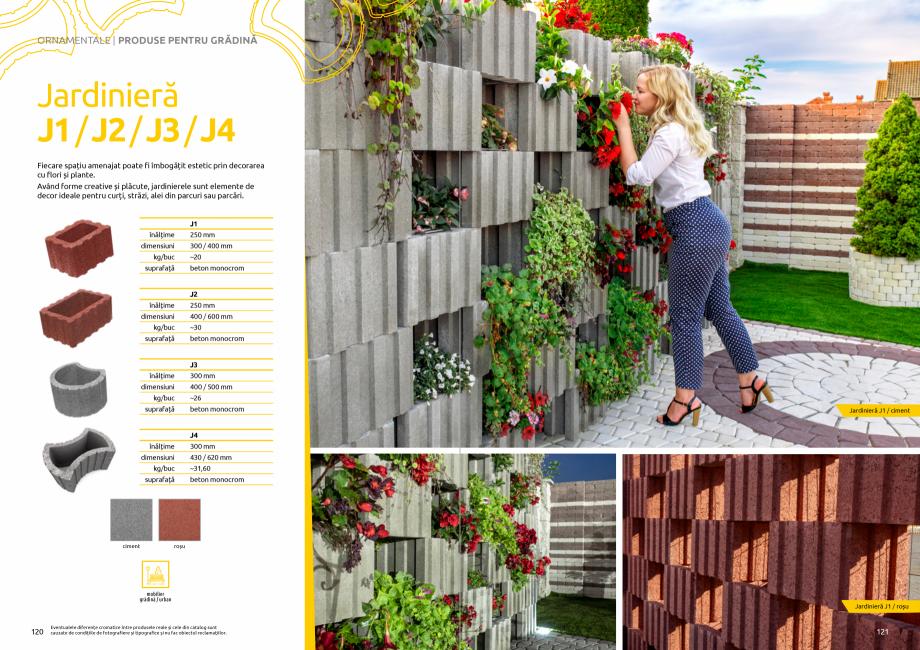 Pagina 62 - Catalog de produse si idei de amenajare 2020-2021 - Blocheti si boltari din beton pentru...