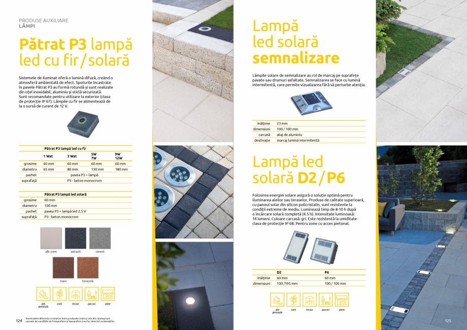 Pagina 64 - Catalog de produse si idei de amenajare 2020-2021 - Blocheti si boltari din beton pentru...