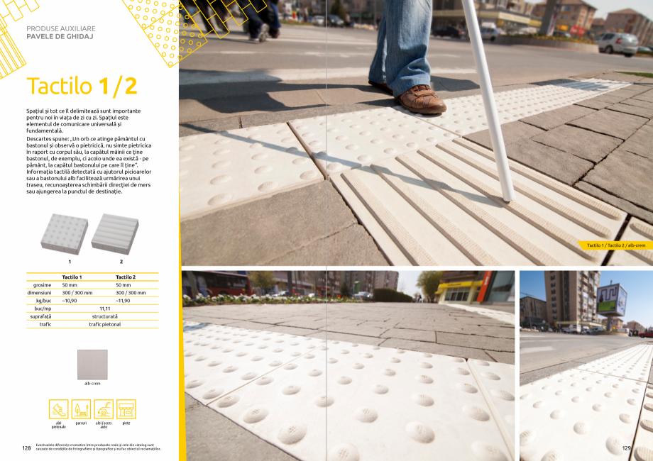 Pagina 66 - Catalog de produse si idei de amenajare 2020-2021 - Blocheti si boltari din beton pentru...