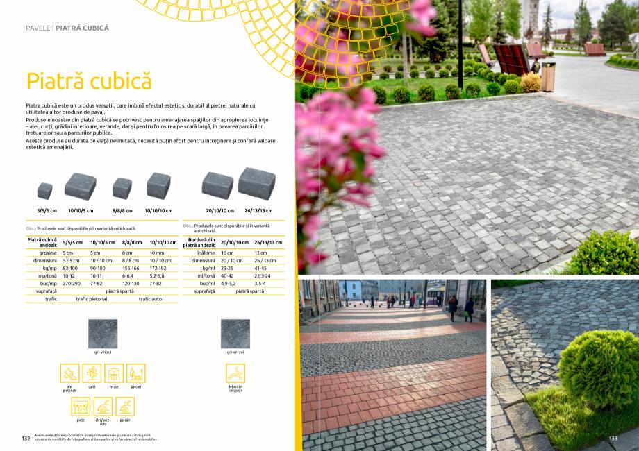 Pagina 68 - Catalog de produse si idei de amenajare 2020-2021 - Blocheti si boltari din beton pentru...