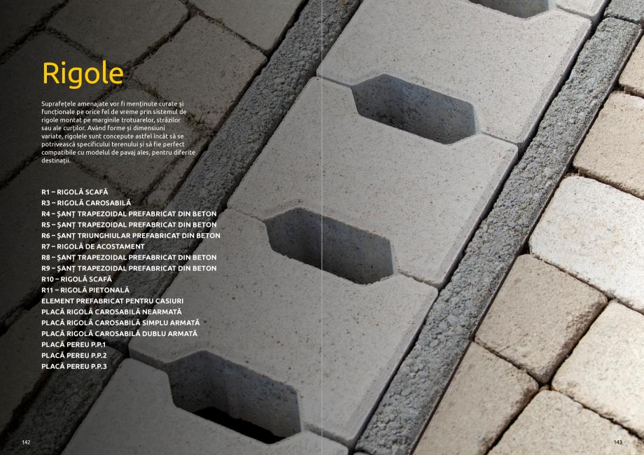 Pagina 73 - Catalog de produse si idei de amenajare 2020-2021 - Blocheti si boltari din beton pentru...