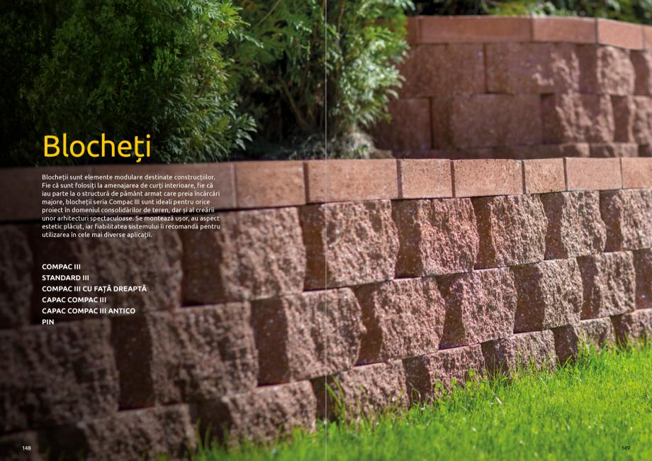 Pagina 76 - Catalog de produse si idei de amenajare 2020-2021 - Blocheti si boltari din beton pentru...
