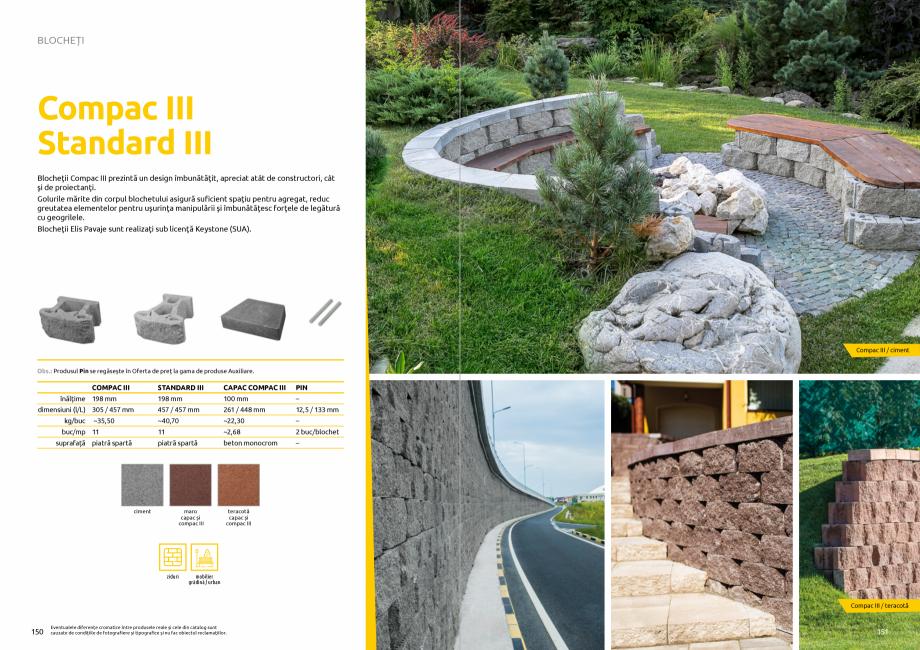 Pagina 77 - Catalog de produse si idei de amenajare 2020-2021 - Blocheti si boltari din beton pentru...