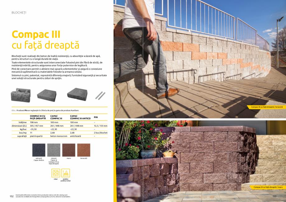 Pagina 78 - Catalog de produse si idei de amenajare 2020-2021 - Blocheti si boltari din beton pentru...