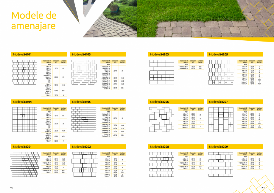 Pagina 82 - Catalog de produse si idei de amenajare 2020-2021 - Blocheti si boltari din beton pentru...