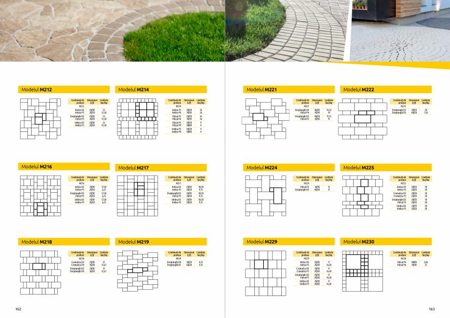 Pagina 83 - Catalog de produse si idei de amenajare 2020-2021 - Blocheti si boltari din beton pentru...