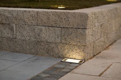Bloc zid premium alb-crem- vazut de aproape Premium Blocuri de zid